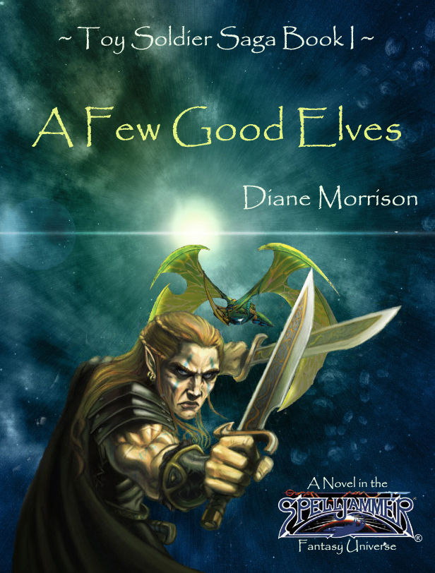 """A Few Good Elves"" Book Cover"